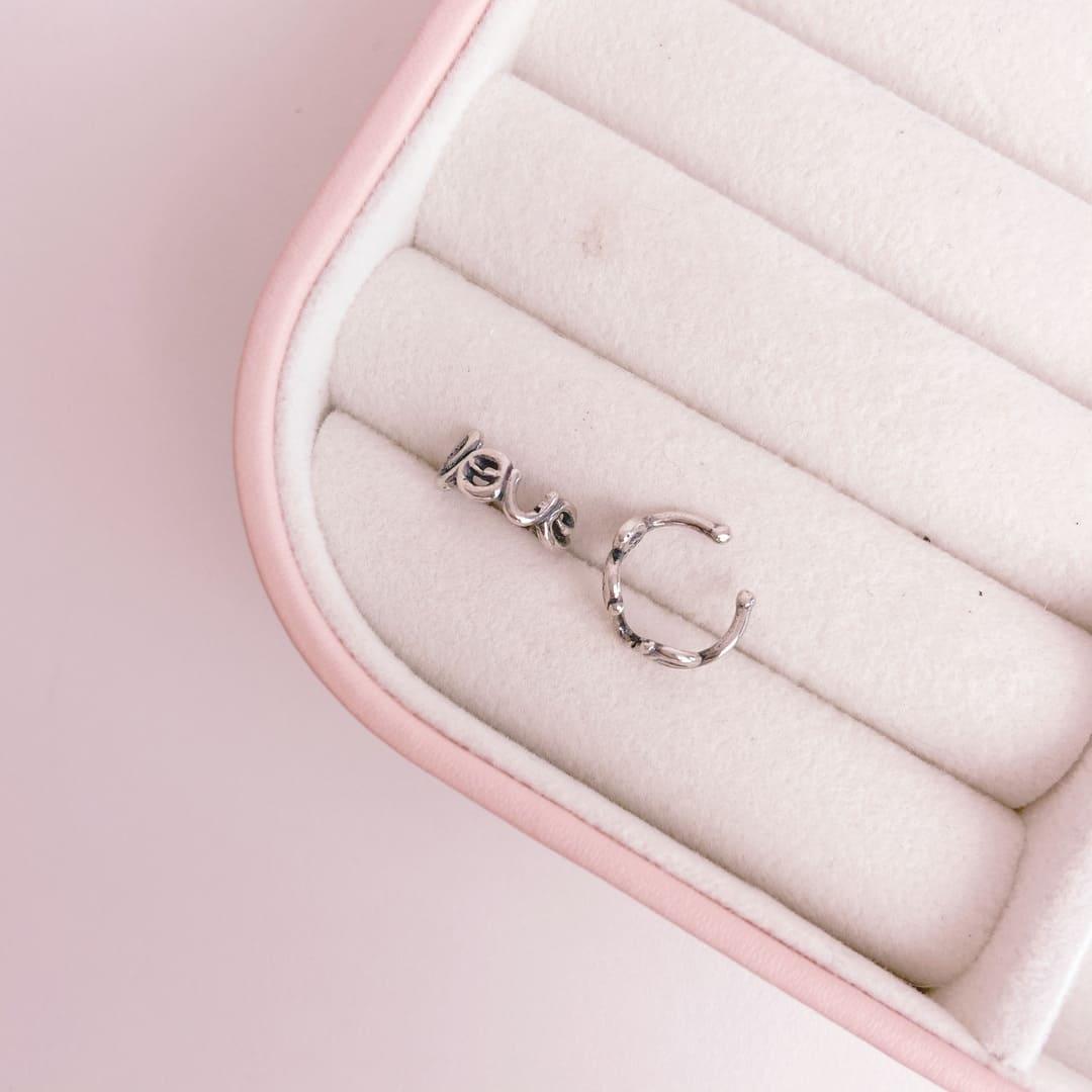 Piercing Prata 925 Pressão Love