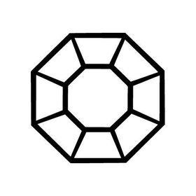 Pingente Triângulo Quartzo Fumê Prata 925