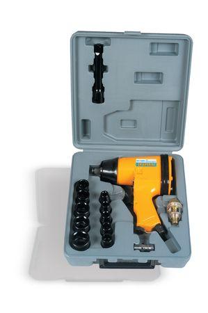 Chave De Impacto Pneumática 1/2 c/ Kit soquete CHI320K Rocking Dog 32 Kgf - Chiaperini