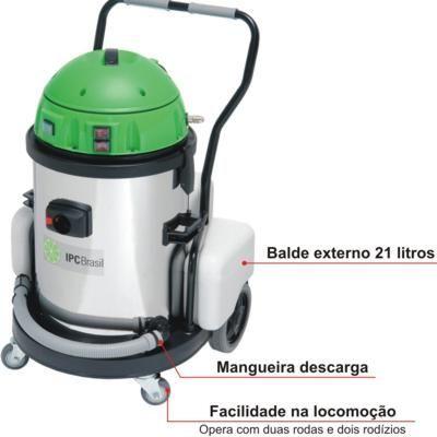 Extratora e aspirador 2 em1 Carpetes e estofados A262 Ext 62 L - 2400W - Profissional - IPC Soteco
