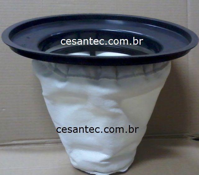 Filtro poliester Completo 35 a 50 litros - IPC / Soteco / Electrolux / Rotterman