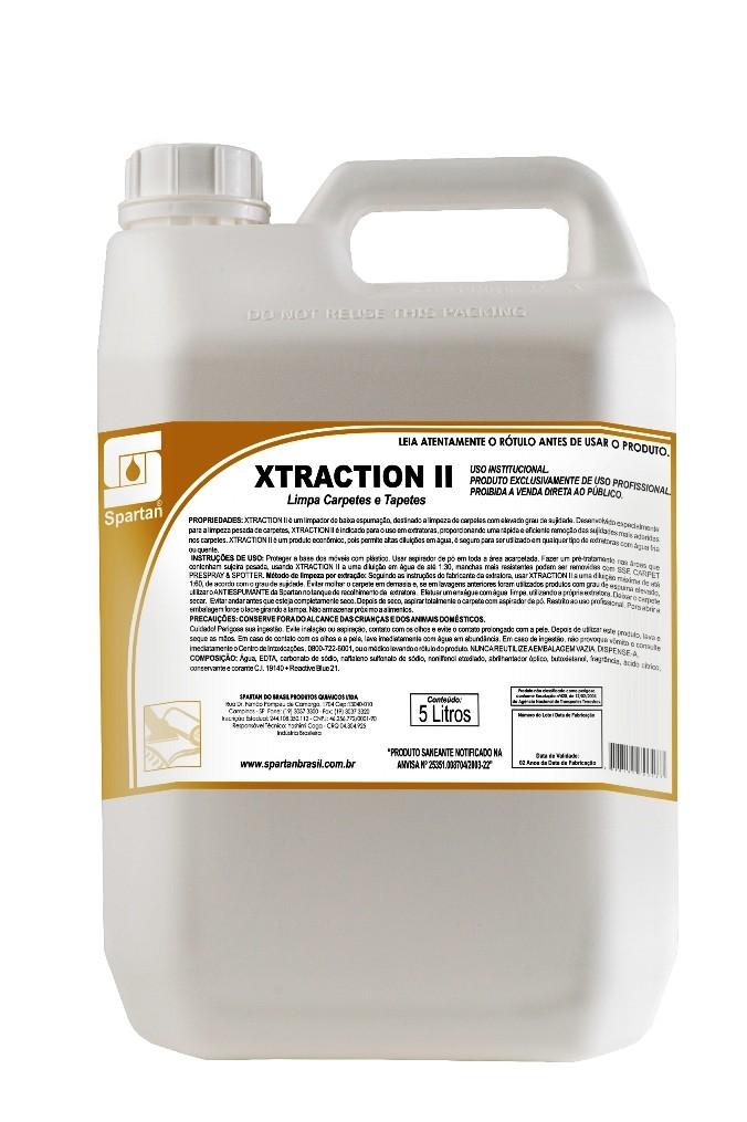 Limpador de Carpete por Extração - XTRACTION II - Spartan- 5 lITROS