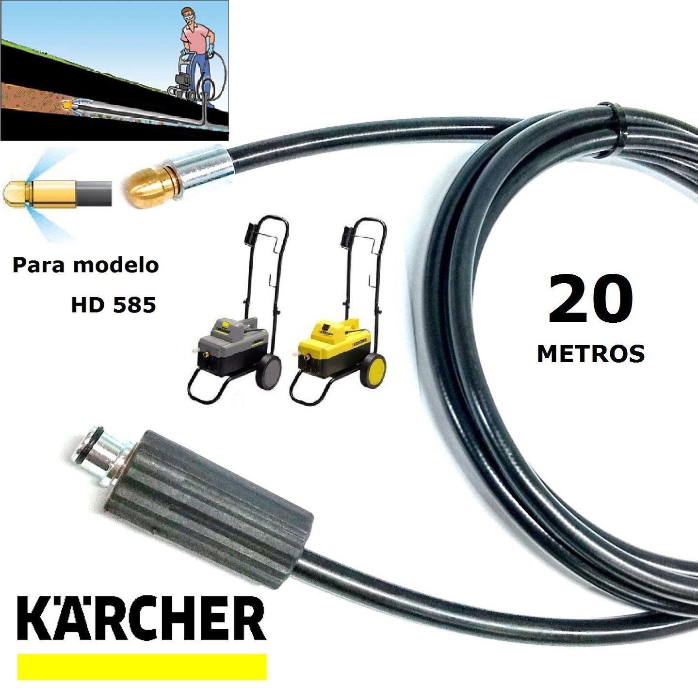 Mangueira Desentupidora De Tubulação 20 METROS HD585 - Karcher