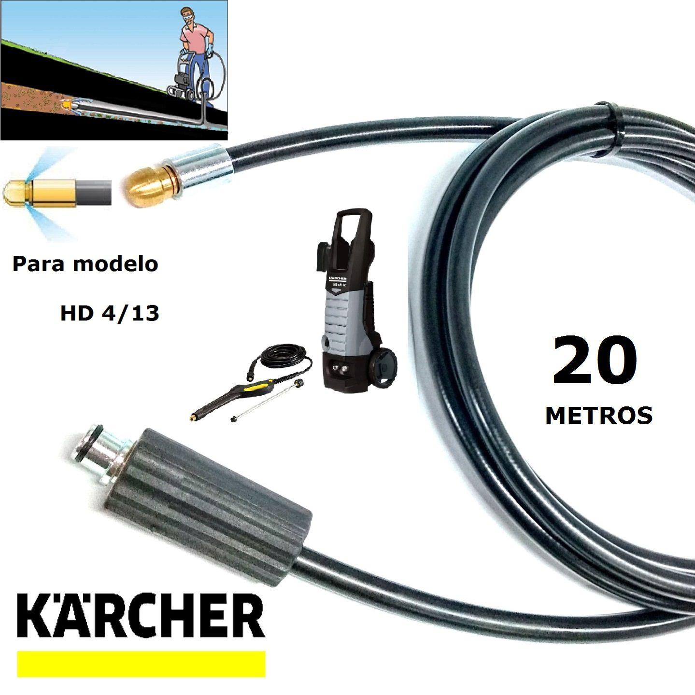 Mangueira Desentupidora De Tubulação 20 METROS HD 4/13 - Karcher