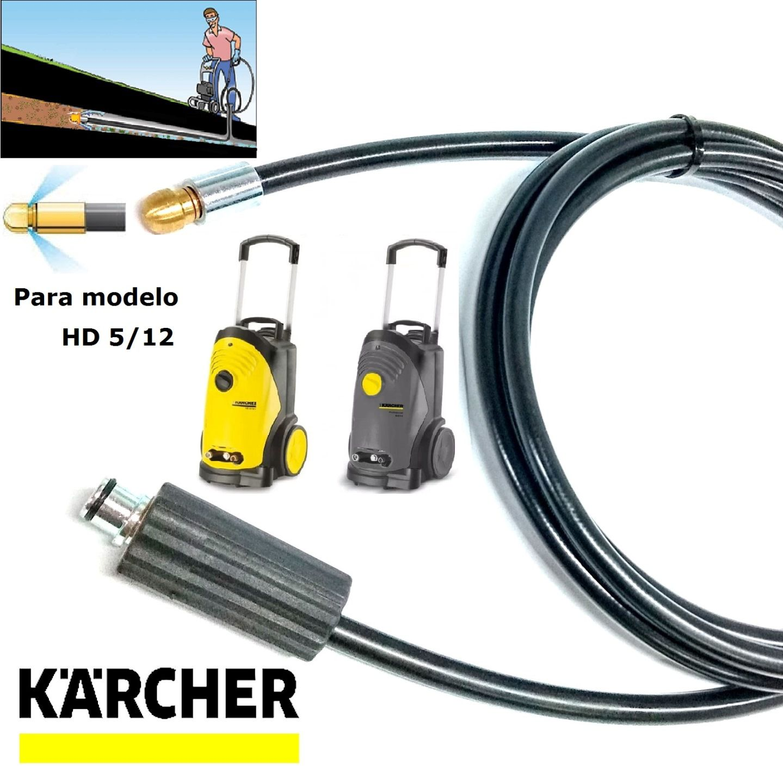 Mangueira Desentupidora De Tubulação 20 METROS HD 5/13 - Karcher