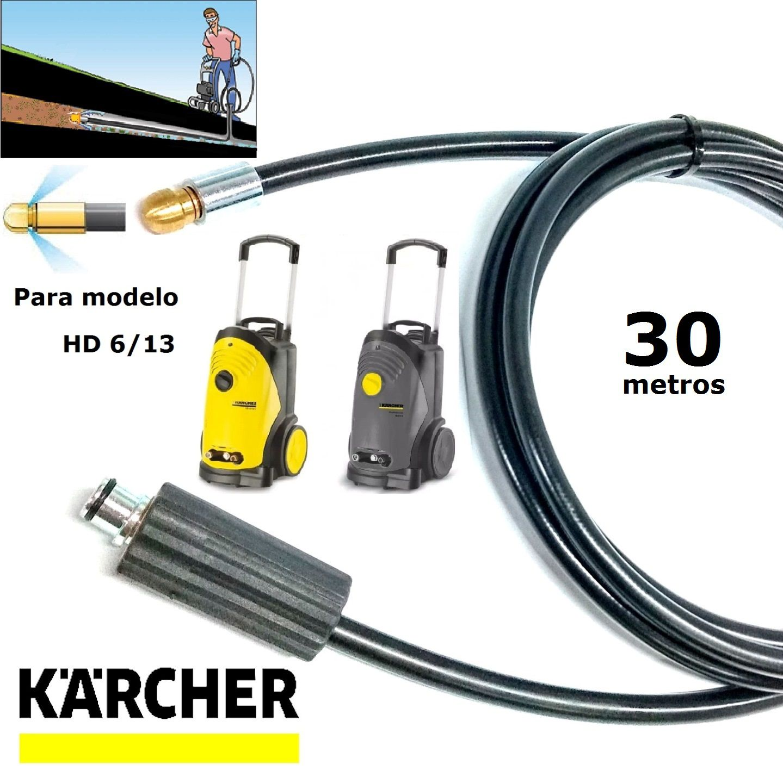 Mangueira Desentupidora De Tubulação 30 METROS HD 6/13 - Karcher