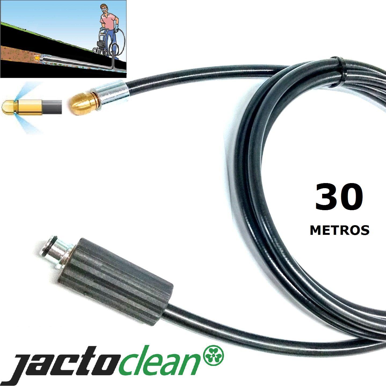 Mangueira desentupidora de tubulação 30 METROS  - Jacto Clean