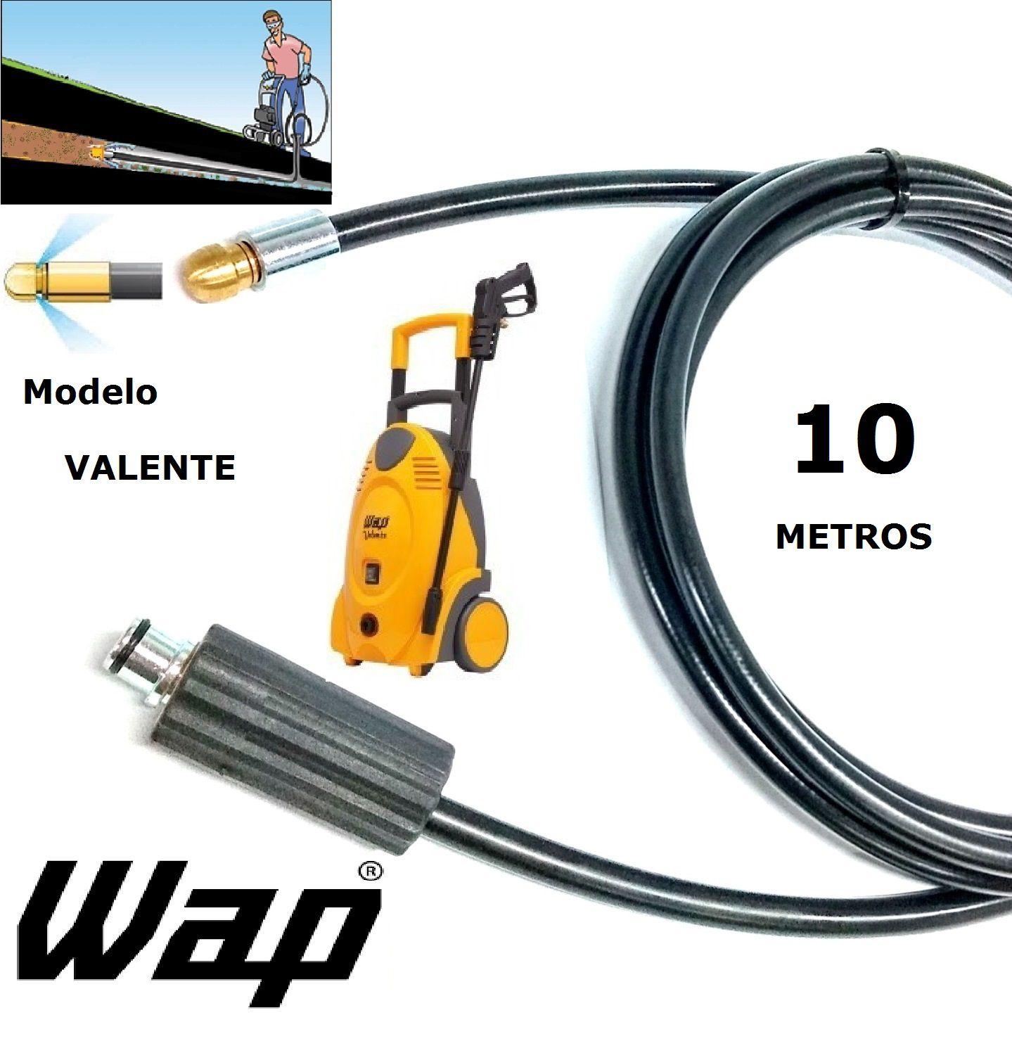 Mangueira desentupidora de tubulação WAP - 10 Metros - Wap VALENTE