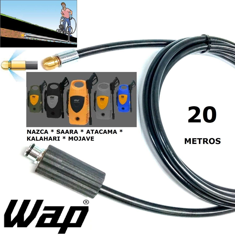 Mangueira desentupidora de tubulação WAP - 20 Metros - Wap ATACAMA