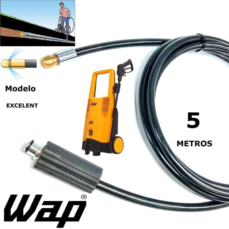 Mangueira desentupidora de tubulação WAP - 5 Metros - Wap EXCELENT