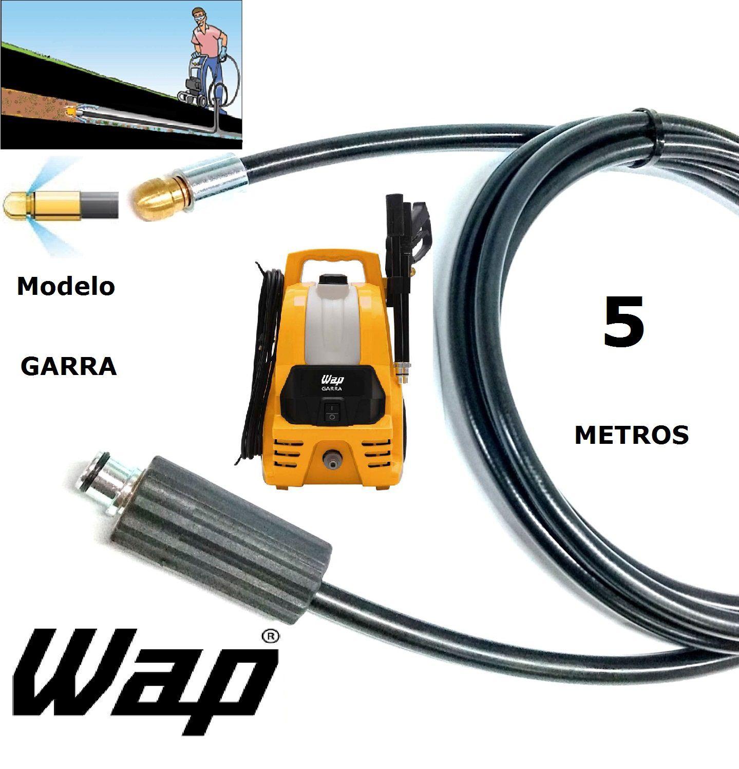 Mangueira desentupidora de tubulação WAP - 5 Metros - Wap GARRA