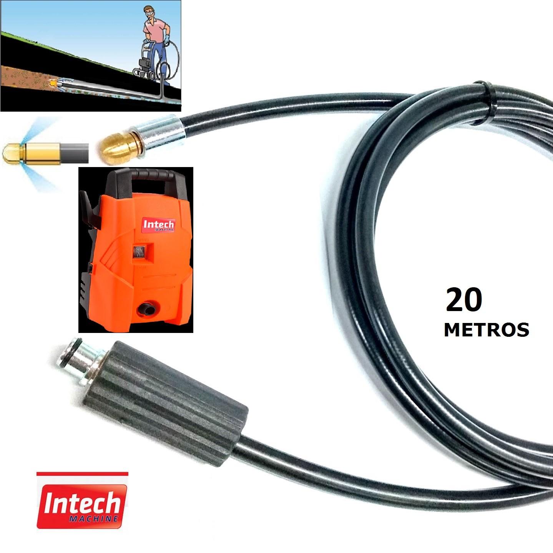 Mangueira Desentupidora Esgoto 20 Metros CALIFORNIA Intech Machine