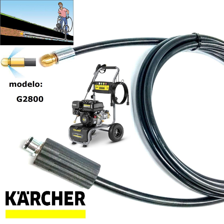 Mangueira Para Desentupir Karcher 40 Metros G2800