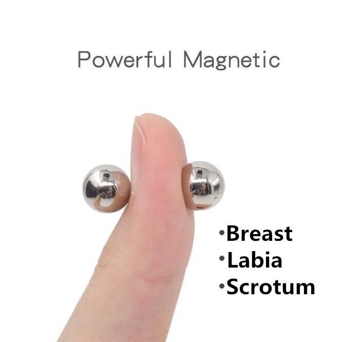 Brinco mangnético piercing magnético imã de bolinhas 2,74mm