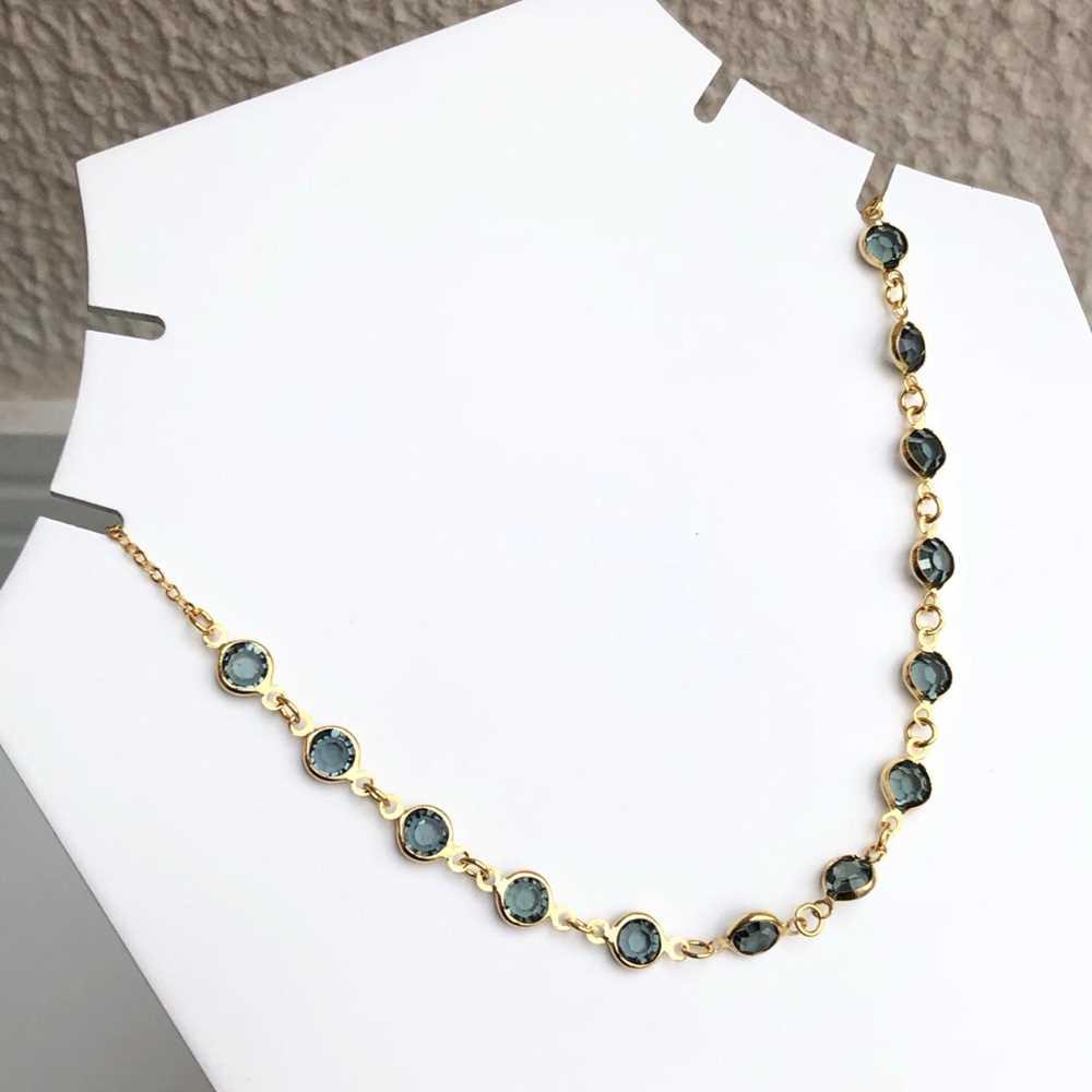 Colar choker folheado a ouro feminino pedrarias verde esmeralda