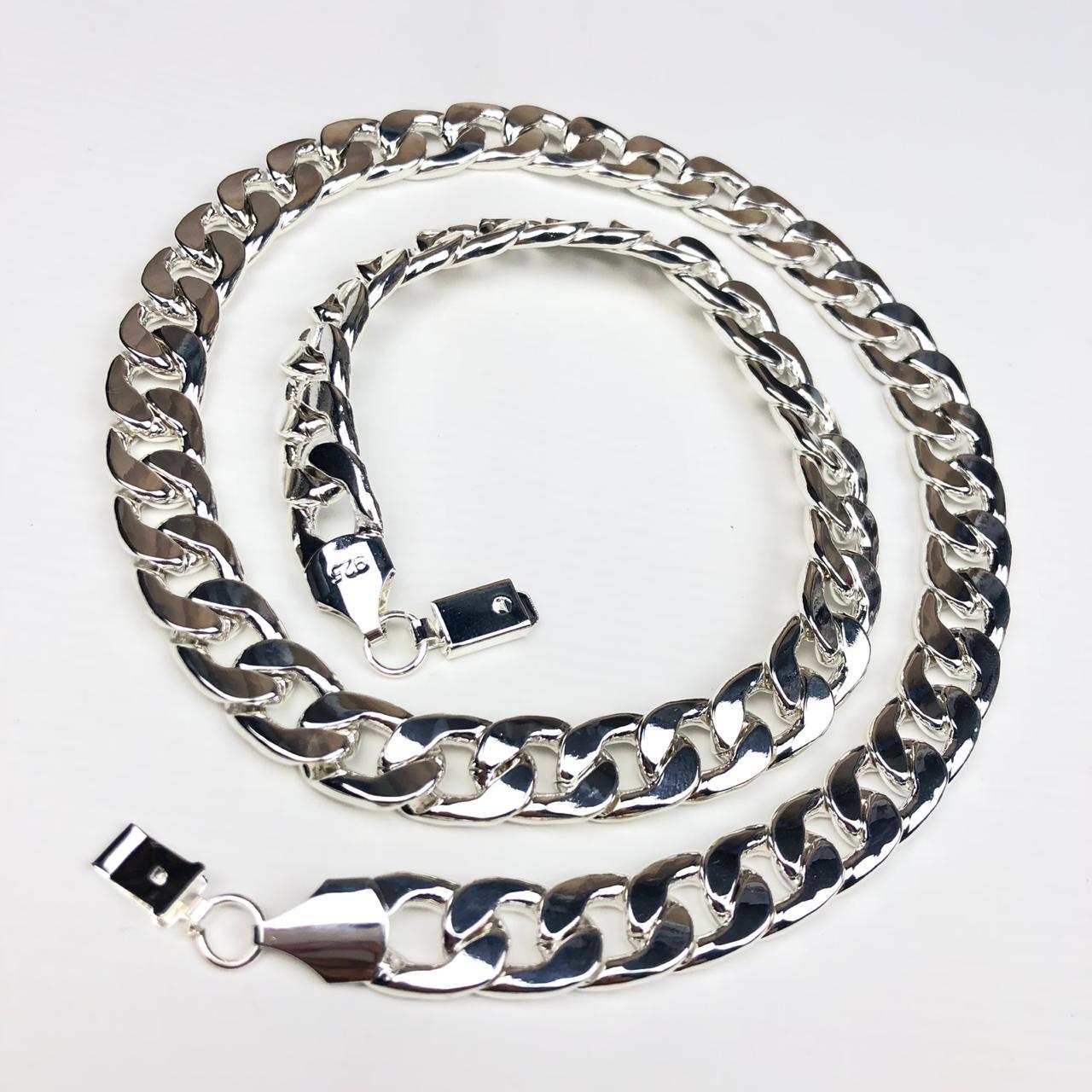 b305d05eb9408 Corrente Masculina Prata Bijoux - Diamante Rosa Shop Atacado de ...