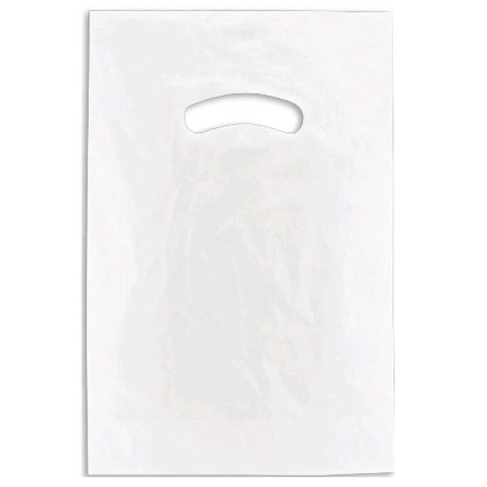 Embalagem Para Bijuteria transparente fosca 15x30cm 10 Unidades - Sacola plástica alça vazada