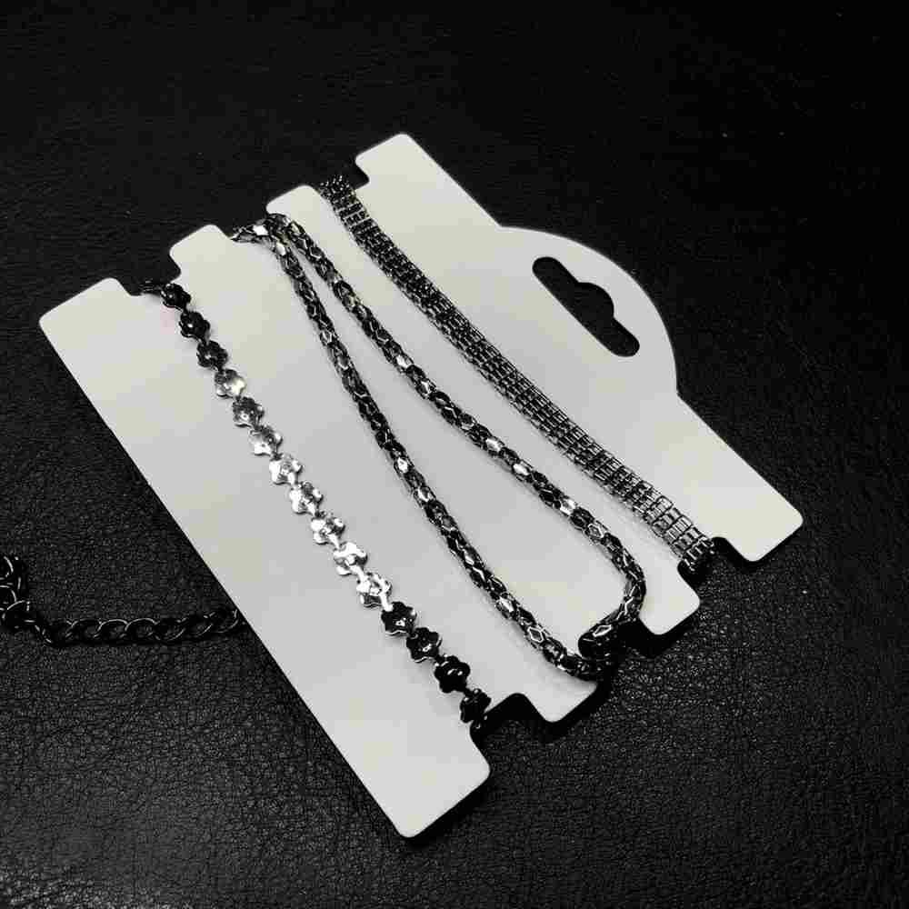 Kit de pulseiras mix de pulseiras grafite com três pulseiras