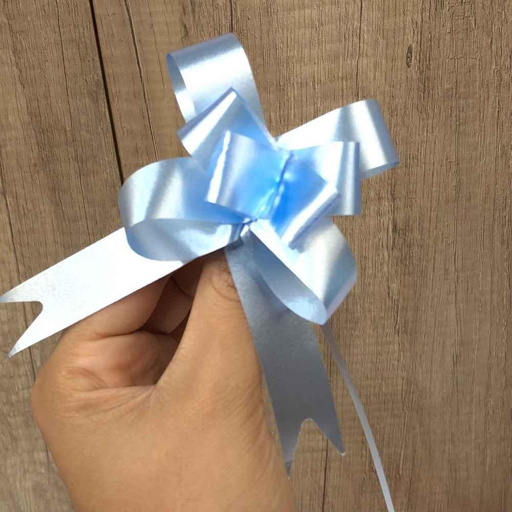 Lacinho Para Presente Laço Pronto - Azul Bebê