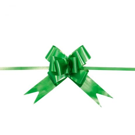 Lacinho Para Presente Laço Pronto - Verde Bandeira