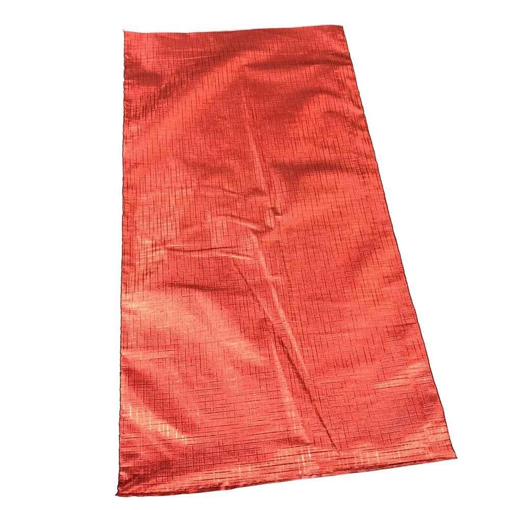 Saquinho de Presente Embalagem para Presente 10 Und - Texturizado Soft Touch 15x29cm - Vermelho