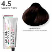 COLORAÇÃO ITALLIAN COLOR 60G CASTANHO MOGNO 4.5