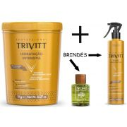 Hidratação Intensiva Trivitt 1kg + Fluido Para Escova + Óleo