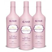Kit Plástica Capilar Marroquina (g Hair) 3x1000ml