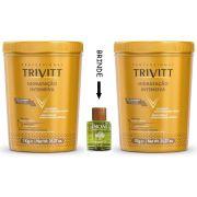 Máscara Hidratação Intensiva Trivitt Nº3 1kg - 2 Unidades