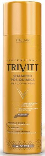 Shampoo Itallian Trivitt Profissional Pós Química - 1 L