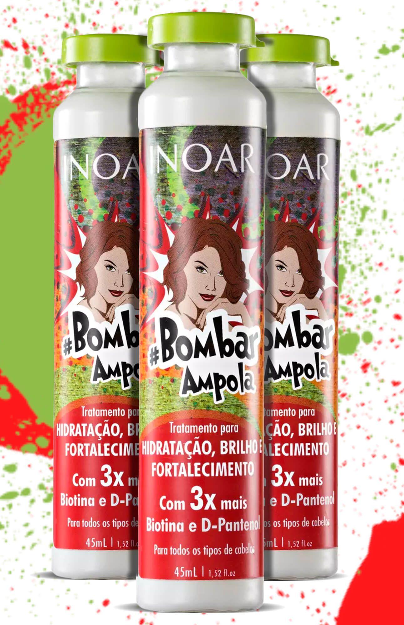 Ampola Inoar bombar 45ml (cx Com 12 Ampolas)