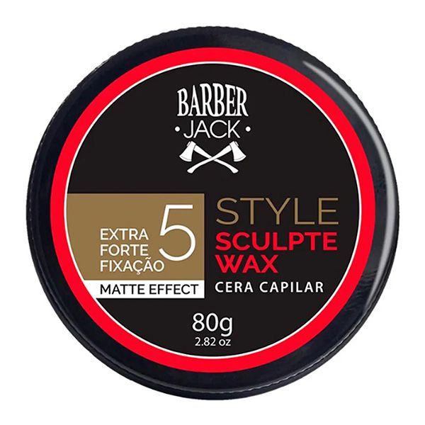 Barber Jack - Cera Capilar Style Sculpte Wax 5 80 g