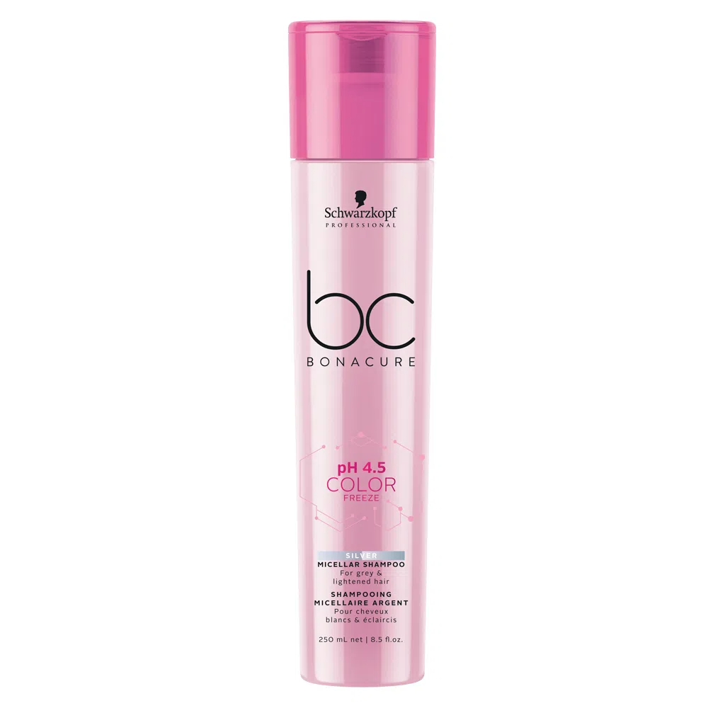 BC pH 4.5 Color Freeze Micellar Shampoo Silver 250ml