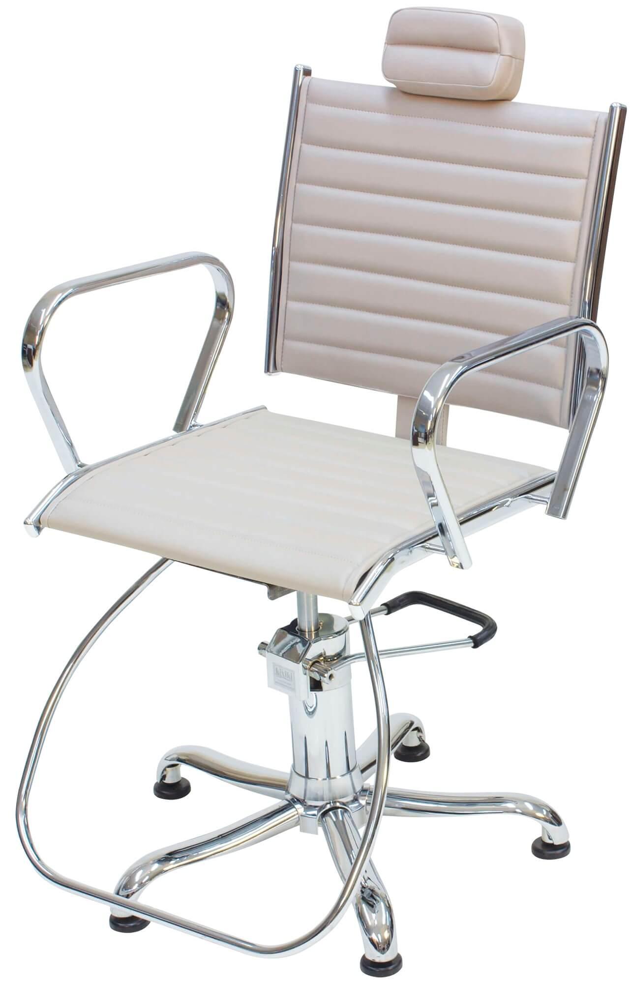 Cadeira Atenas Kixiki Encosto Reclinável Com Cabeçote