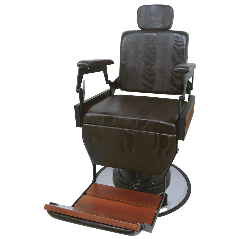 Cadeira Barbeiro Hawk Sem Capitonê - Kixiki