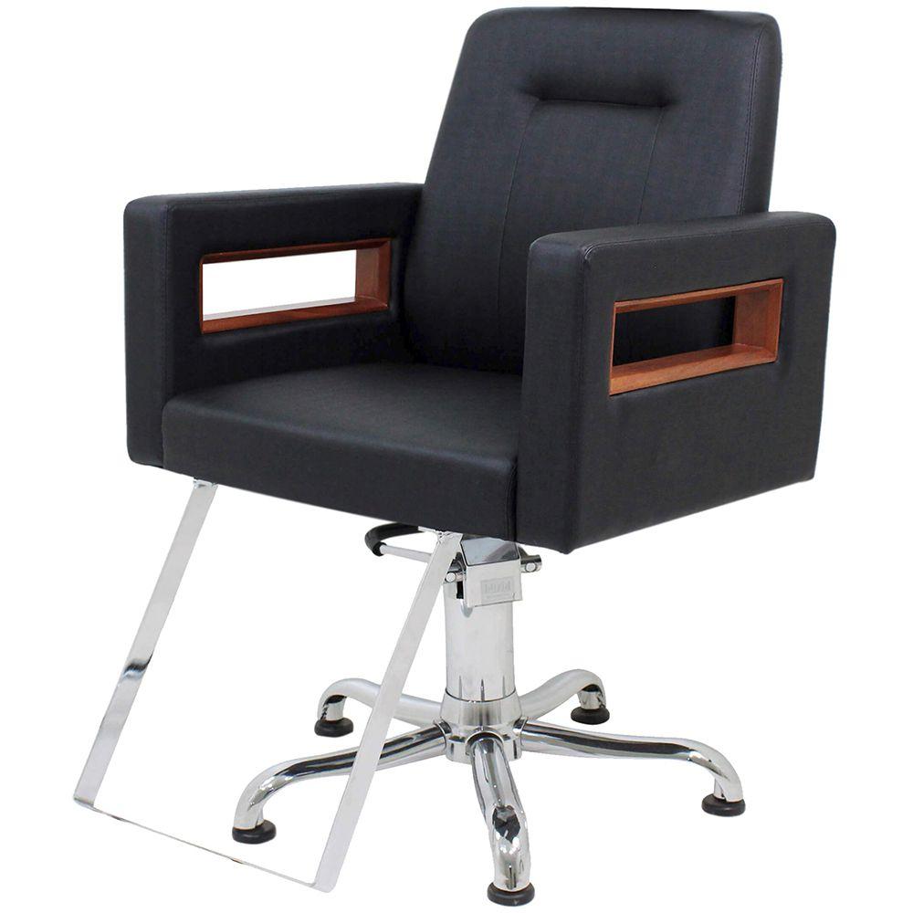 Cadeira Cabeleireiro Encosto Fixo Sem Cabeçote Lisboa Kixiki