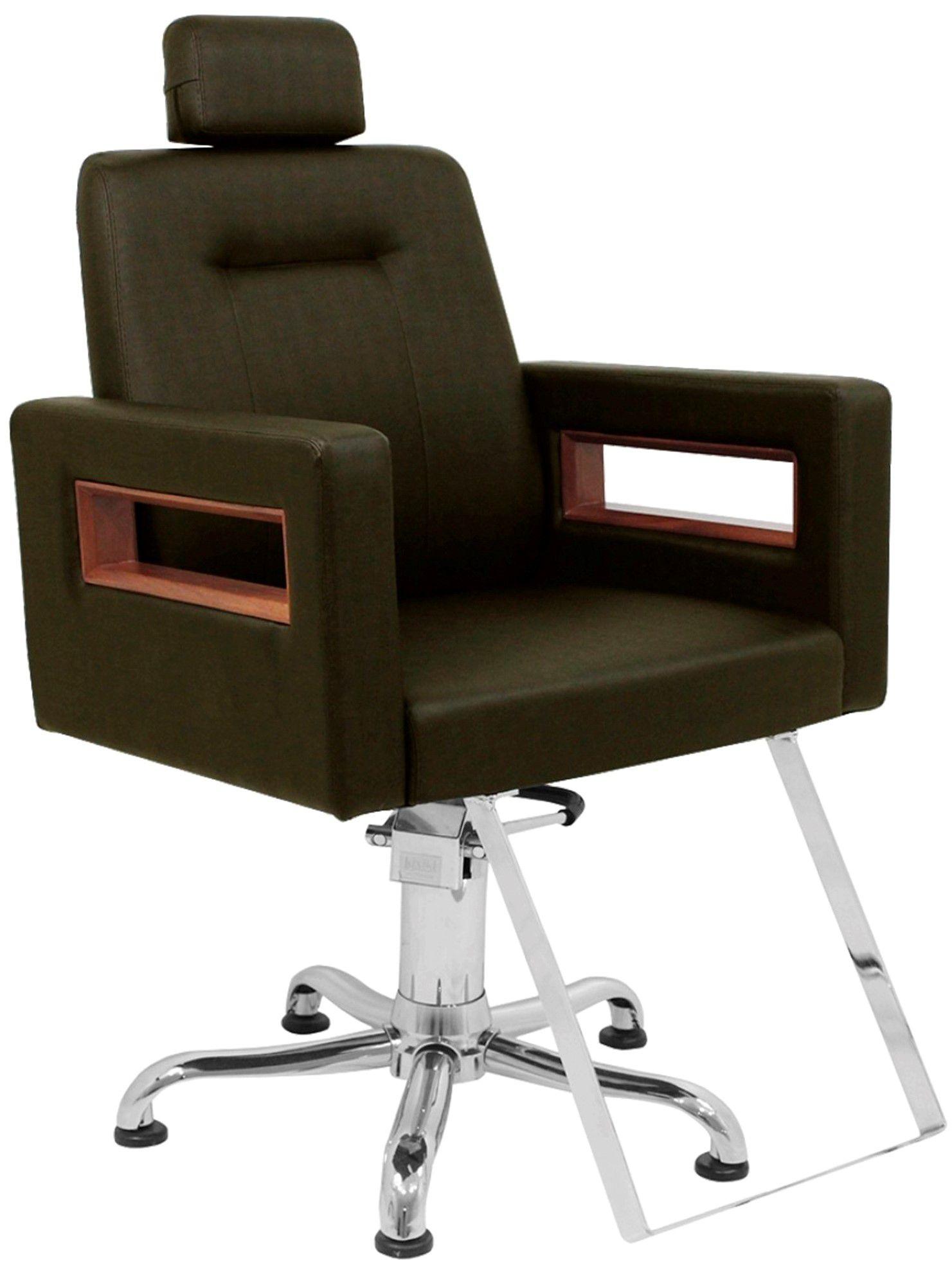 Cadeira Kixiki Lisboa com encosto fixo e cabeçote