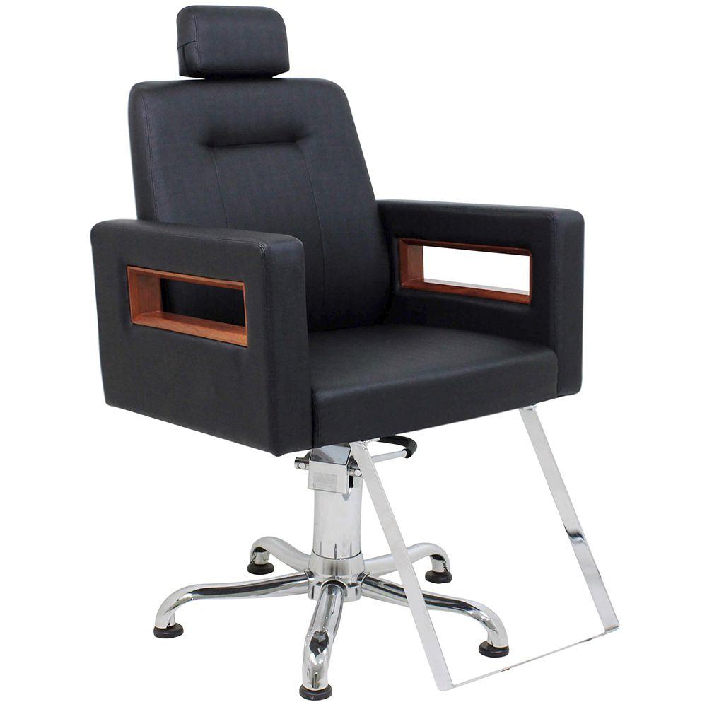 Cadeira Lisboa Kixiki Encosto Reclinável Com Cabeçote