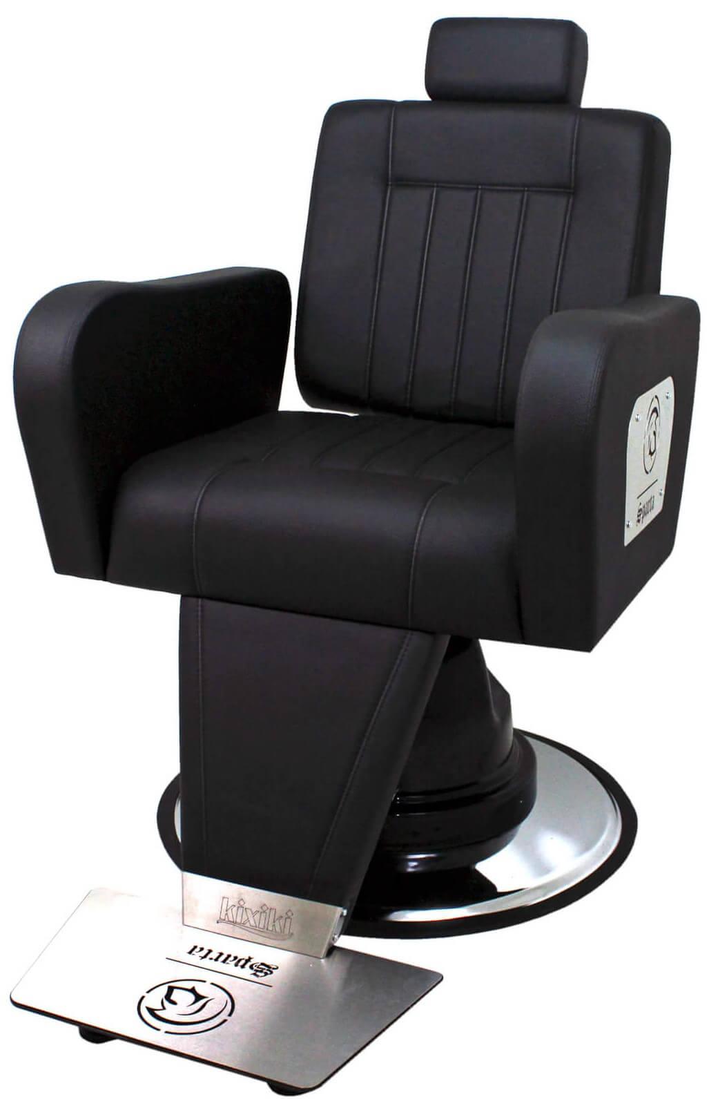 Cadeira Para Barbeiro Encosto Reclinável - Sparta Kixiki