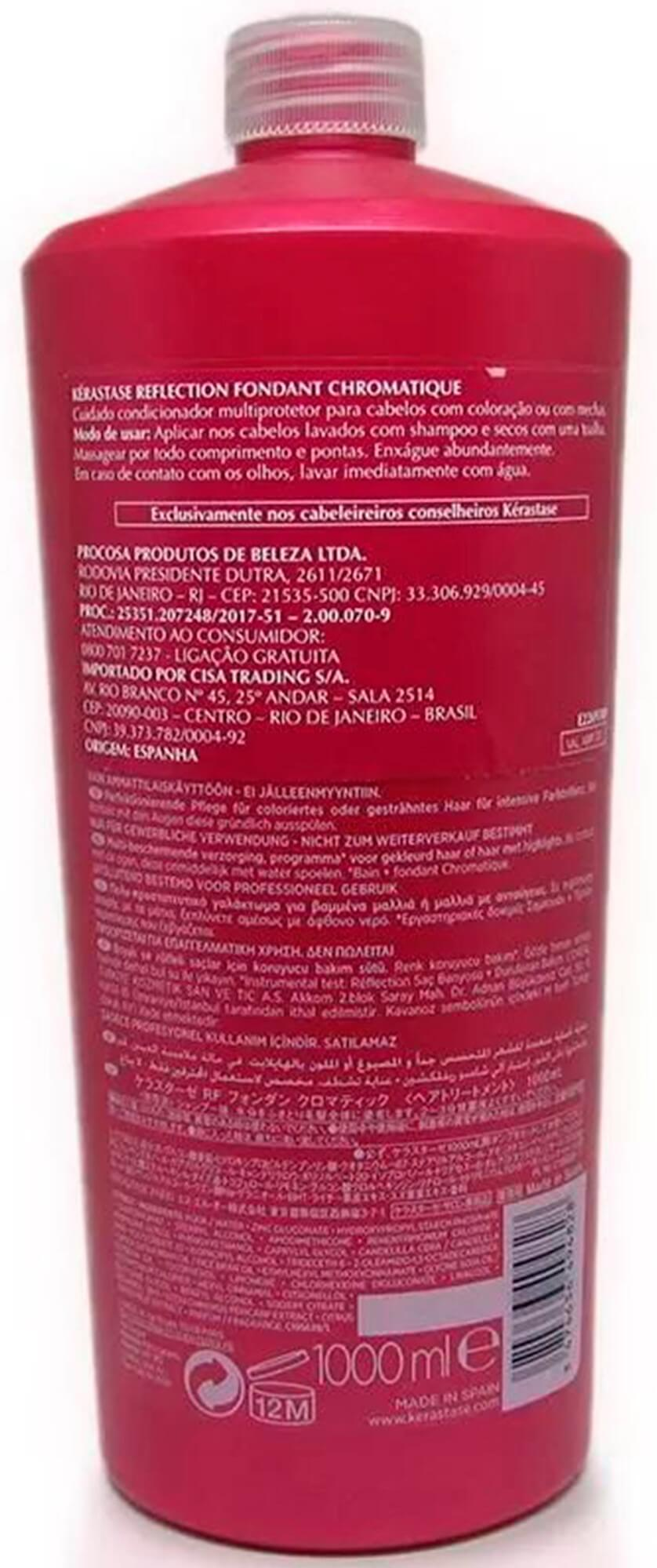 Condicionador Kérastase Reflection Chromatique Fondant - 1 Litros