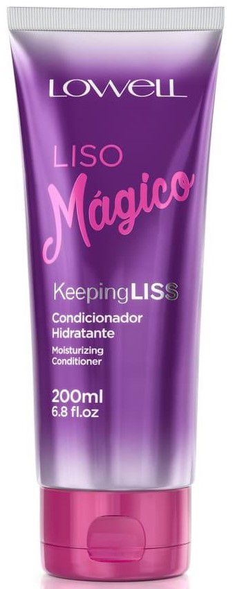 Condicionador Liso Mágico Lowell - 200ml