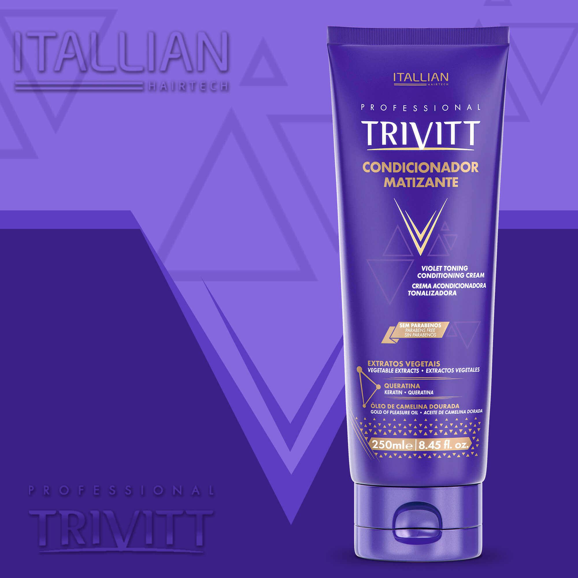 Condicionador Trivit Matizante - 250g Itallian Bisnaga