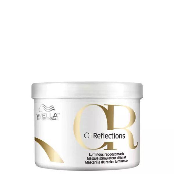 Wella - Oil Reflections Luminous Reboost - Máscara Capilar 500ml