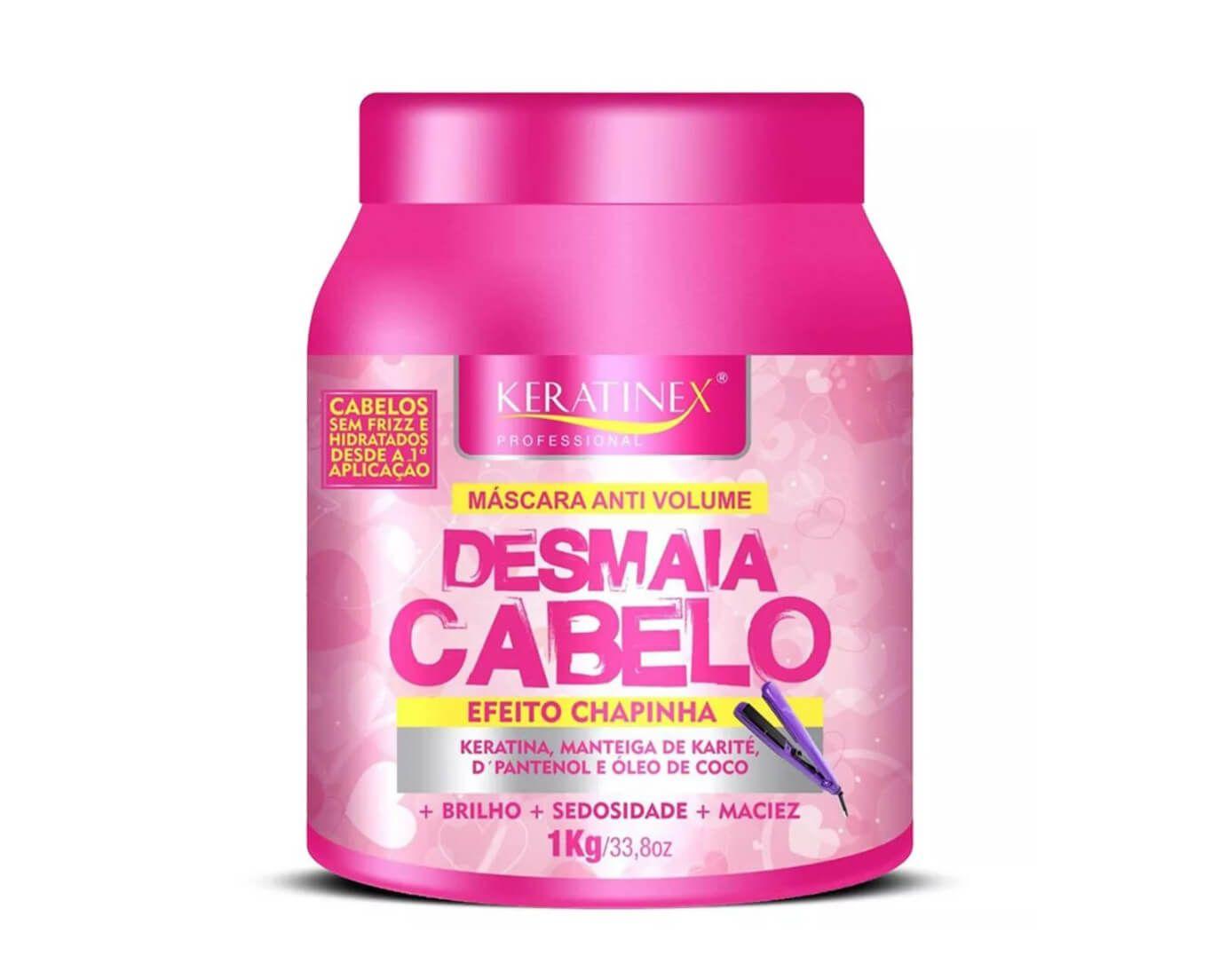 Desmaia Cabelo Ultra Hidratante Keratinex 1kg