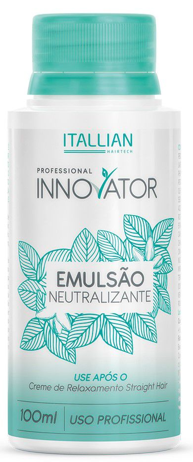 Emulsão Neutralizante Straight Hair Itallian Innovator 100ml