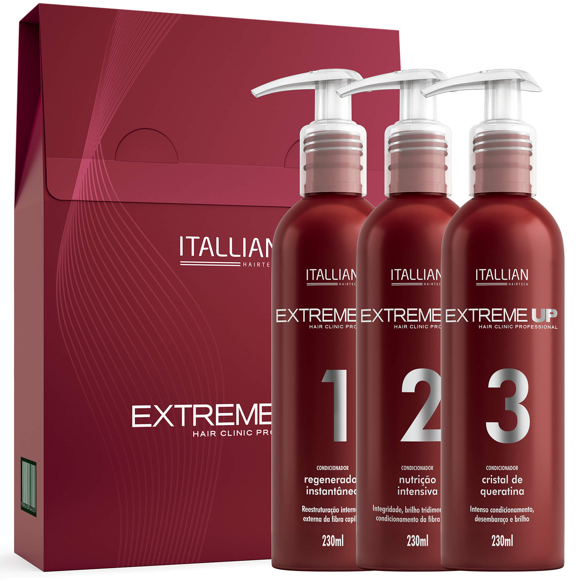 Extreme-up Hair Clinic Professional + Liso Fugace Nº 5