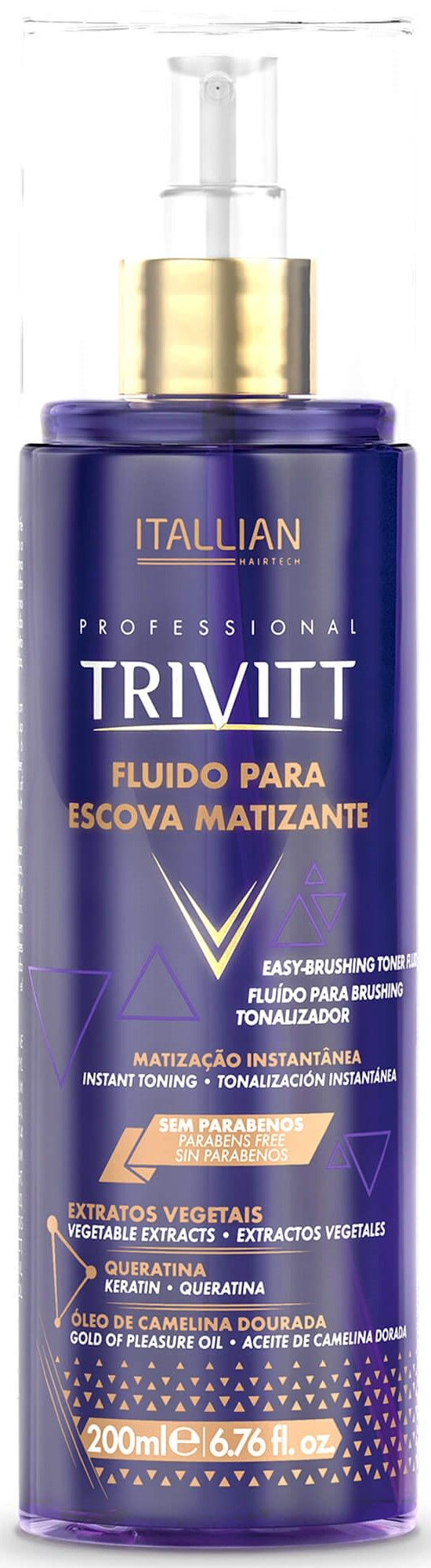 Fluido Para Escova Itallian Trivitt Matizante - 200ml