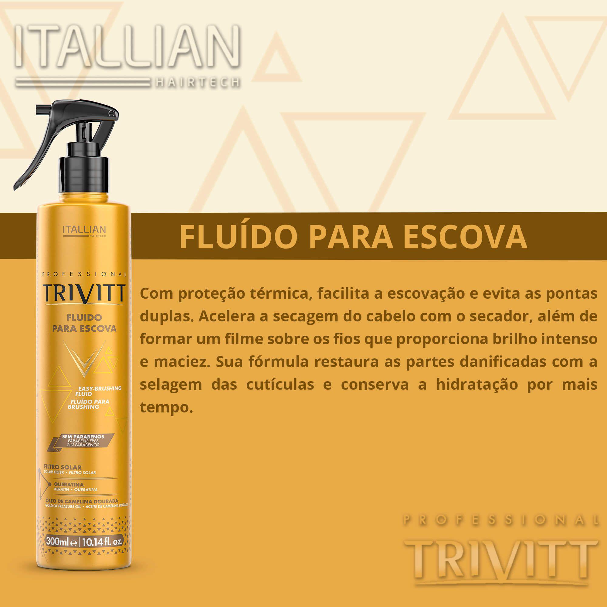 Fluído Para Escova Trivitt Nº 06 300ml