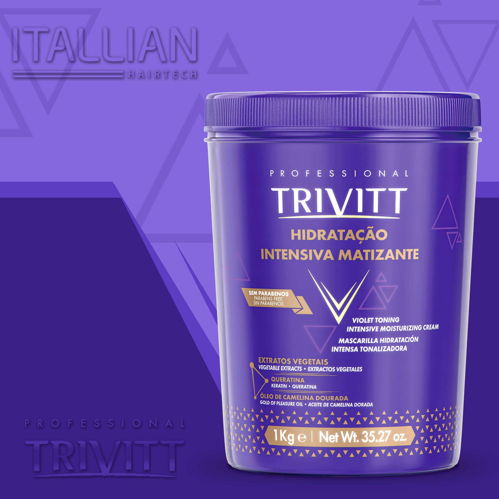 Hidratação Intensiva Matizante Itallian Trivitt - 1 Kg