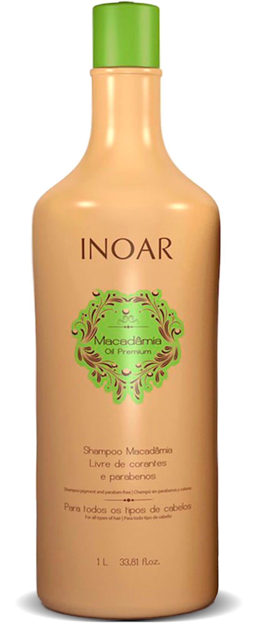 Inoar Kit Macadâmia Oil Premium (shamp +  Condic) 1000ml